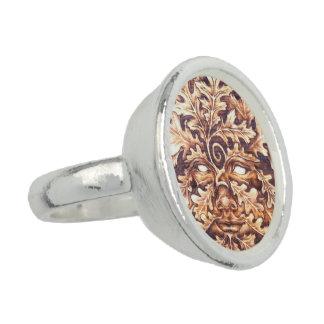 Eichen-grüner Frauen-Ring Ring