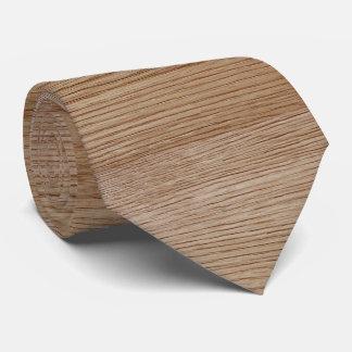 Eichen-Holz-Korn-Blick Bedruckte Krawatte