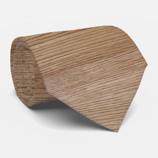 Eichen-Holz-Korn-Blick Krawatte
