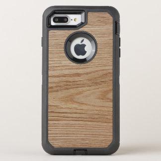 Eichen-Holz-Korn-Blick OtterBox Defender iPhone 8 Plus/7 Plus Hülle