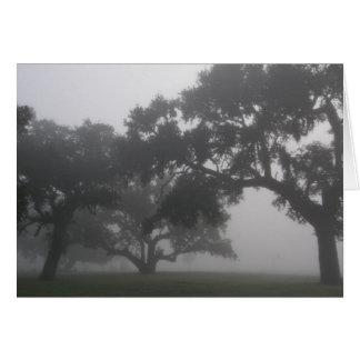 Eichen im Nebel Karte