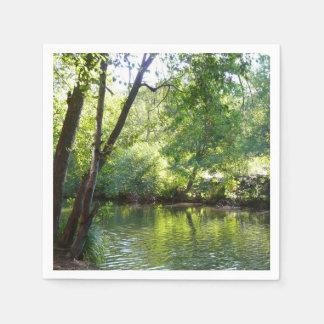 Eichen-Nebenfluss I Sedona Arizona in der Serviette