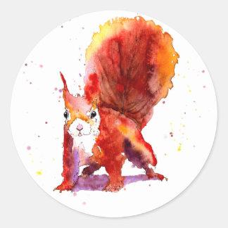 Eichhörnchen Aufkleber