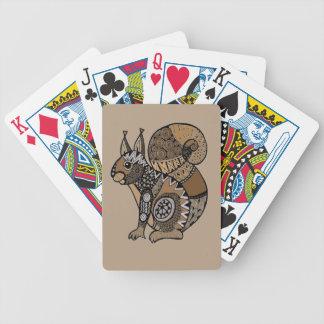 Eichhörnchen Bicycle Spielkarten