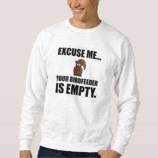 Eichhörnchen Birdfeeder leer Sweatshirt