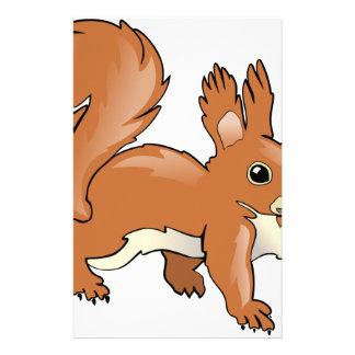 Eichhörnchen Briefpapier