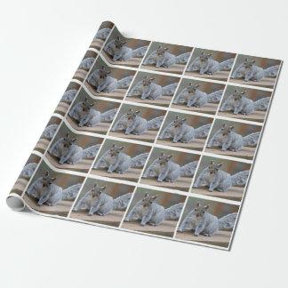 Eichhörnchen-Foto Geschenkpapier