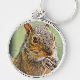 Eichhörnchen-Liebe Schlüsselanhänger