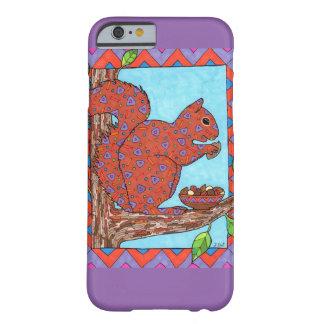 Eichhörnchen mit gemischter Nuts mexikanischer Barely There iPhone 6 Hülle