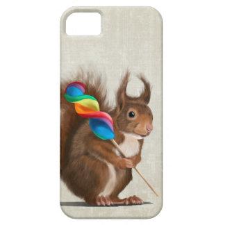 Eichhörnchen mit Lutscher Etui Fürs iPhone 5