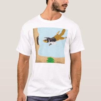 Eichhörnchen-Post schlägt snail mail T-Shirt