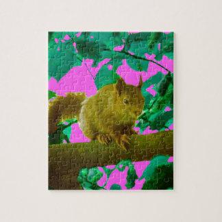 Eichhörnchen Puzzle