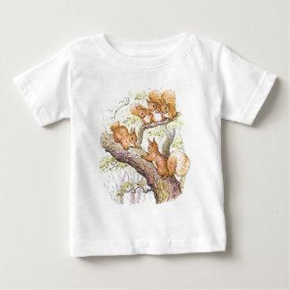 Eichhörnchen-Sitzung Baby T-shirt