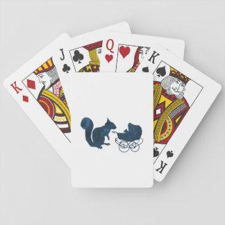 Eichhörnchen Spielkarten
