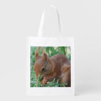 Eichhörnchen - Squirrel - Écureuil - Photo Glineur Wiederverwendbare Einkaufstasche