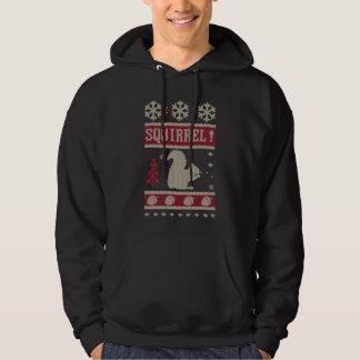 Eichhörnchen-Weihnachten Hoodie