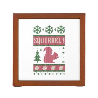 Eichhörnchen-Weihnachten Stifthalter
