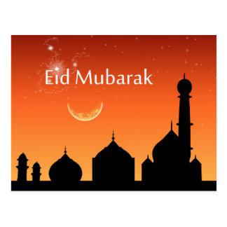 Eid Abends-Himmel - Postkarte