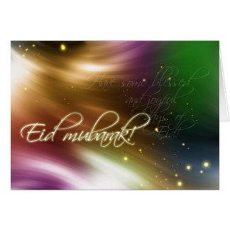Eid Gruß - Eid Mubarak Karte