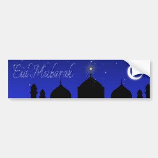 Eid Mubarak Gruß - Autoaufkleber