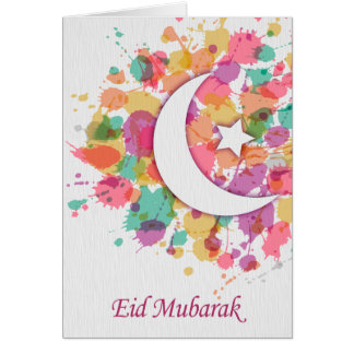 Eid Mubarak islamische Gruß-Karte für Ramadan/Eid! Karte