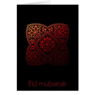 Eid Mubarak - kundengerechte Grußkarte
