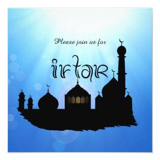 Eid Mubarak Moschee mit Sunrays - Iftar Einladung