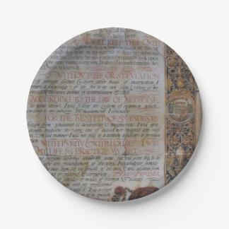 Eid von Hippokratese Pappteller