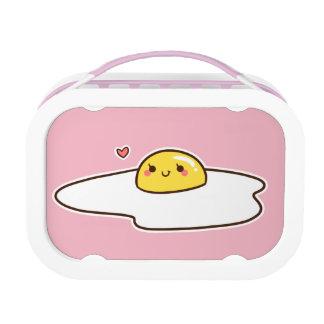 Eier für das Mittagessen Brotdose