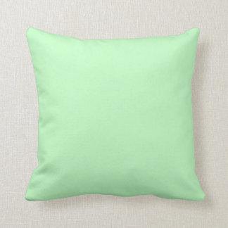 Eierschalen-blaues Grün-Pastellfarbhintergrund Zierkissen