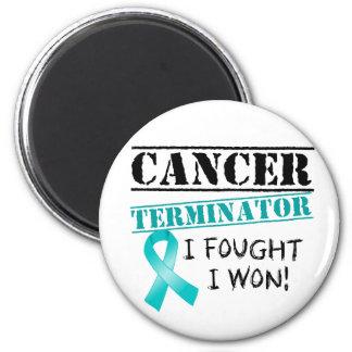 Eierstockkrebs-Abschlussprogramm Kühlschrankmagnete
