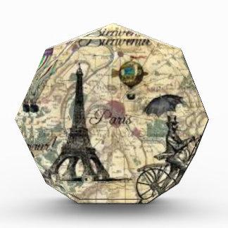 Eiffel Tower Vintage Paris Auszeichnung