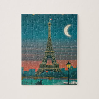 Eiffel Tower Vintage Paris Puzzle