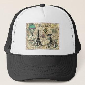 Eiffel Tower Vintage Paris Truckerkappe