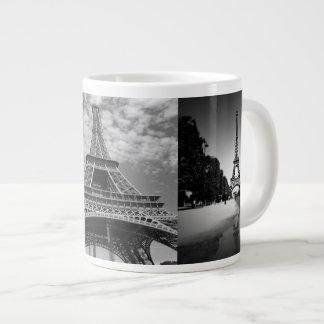 Eiffel-Turm-Ansichten in riesige Extragroße Tassen