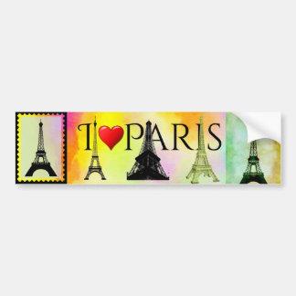 Eiffel-Turm-Autoaufkleber Autoaufkleber