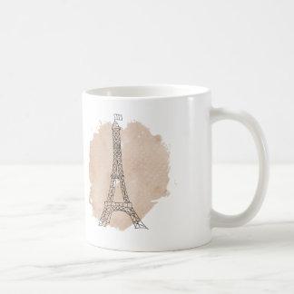 Eiffel-Turm-Kaffee-Tasse Kaffeetasse