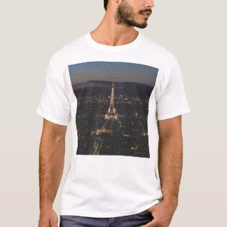 Eiffel-Turm nachts - T - Shirt