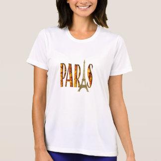 Eiffel-Turm-Paris-Blätter T-Shirt
