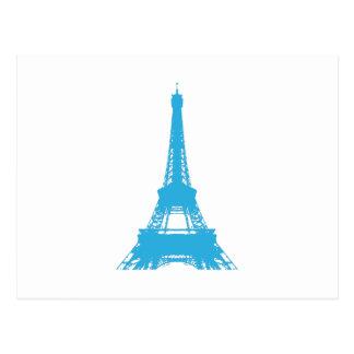 Eiffel-Turm-Paris-Sehenswürdigkeit Postkarte