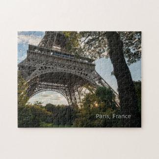 Eiffel-Turm-Puzzlespiel mit Geschenkboxen Puzzle