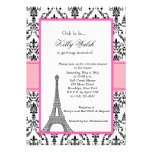 Eiffel-Turm-Rosa-Paris-Brautparty-Einladung