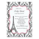 Eiffel-Turm-Rosa-Paris-Brautparty-Einladung 12,7 X 17,8 Cm Einladungskarte