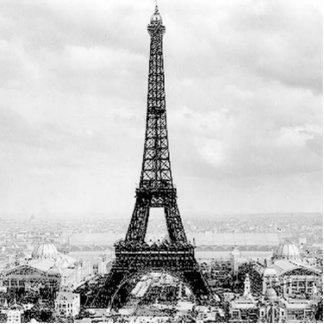 Eiffelturm, 1889 freistehende fotoskulptur