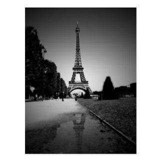 Eiffelturm 3 postkarte