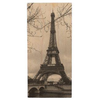 Eiffelturm 7 holz USB stick