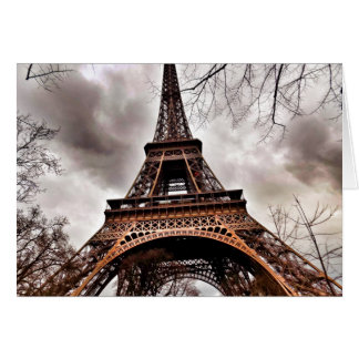 Eiffelturm-Anmerkungs-Karte Karte