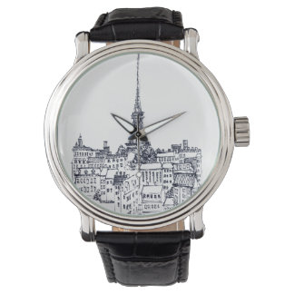 Eiffelturm Armbanduhr