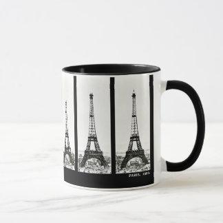 Eiffelturm-Bau Tasse