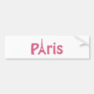 Eiffelturm-Bild Autoaufkleber